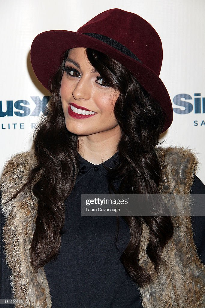 <a gi-track='captionPersonalityLinkClicked' href=/galleries/search?phrase=Cher+Lloyd&family=editorial&specificpeople=7229738 ng-click='$event.stopPropagation()'>Cher Lloyd</a> visits SiriusXM Studios on October 14, 2013 in New York City.