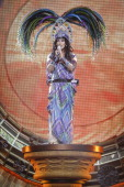 Cher performs live at the Canadian Tire Centre on April 26 2014 in Ottawa Ontario
