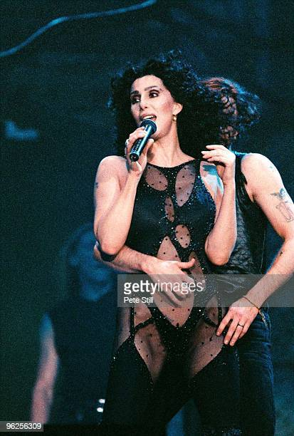 Cher performs on stage at Wembley Arena on her Love Hurts tour in May 7th 1992 in London United Kingdom