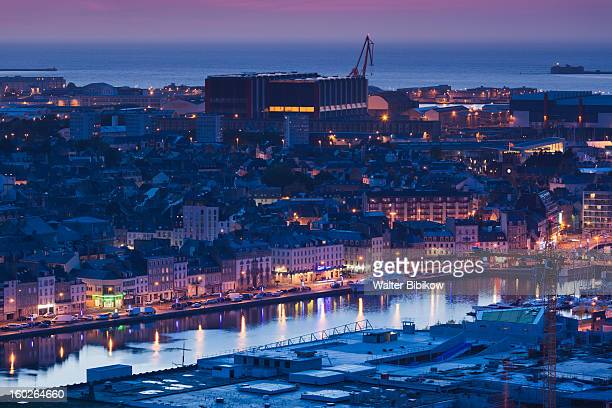 Cherbourg-Octeville, Normandy, City View