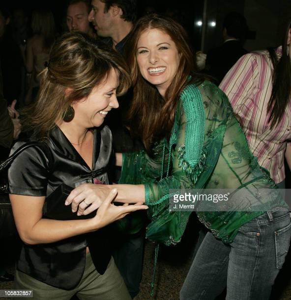 Cheri Oteri and Debra Messing during Los Angeles Confidential Celebrates Gotham Magazine Cover Star Debra Messing at The Maple Drive Atrium in...