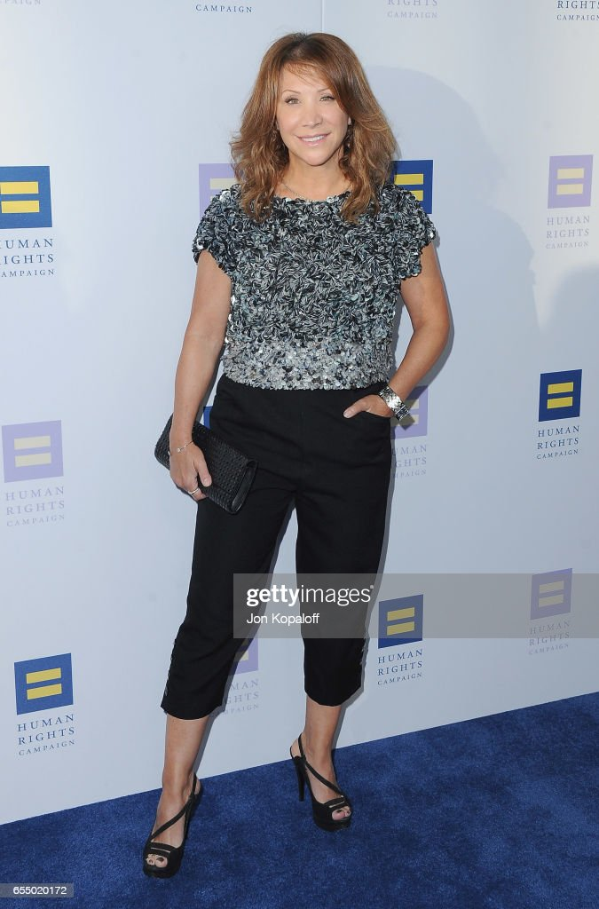 Cheri Oteri arrives at the Human Rights Campaign's 2017 Los Angeles Gala Dinner at JW Marriott Los Angeles at L.A. LIVE on March 18, 2017 in Los Angeles, California.