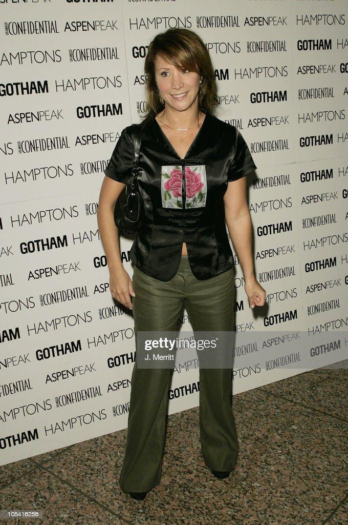 Cheri Oteri during Los Angeles Confidential Celebrates Gotham Magazine Cover Star Debra Messing at The Maple Drive Atrium in Beverly Hills California...