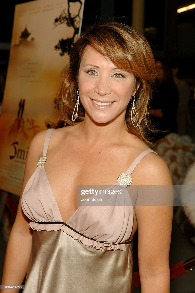 Cheri Oteri during 'Smile' Los Angeles Premiere Red Carpet at Arclight Theater in Hollywood California United States