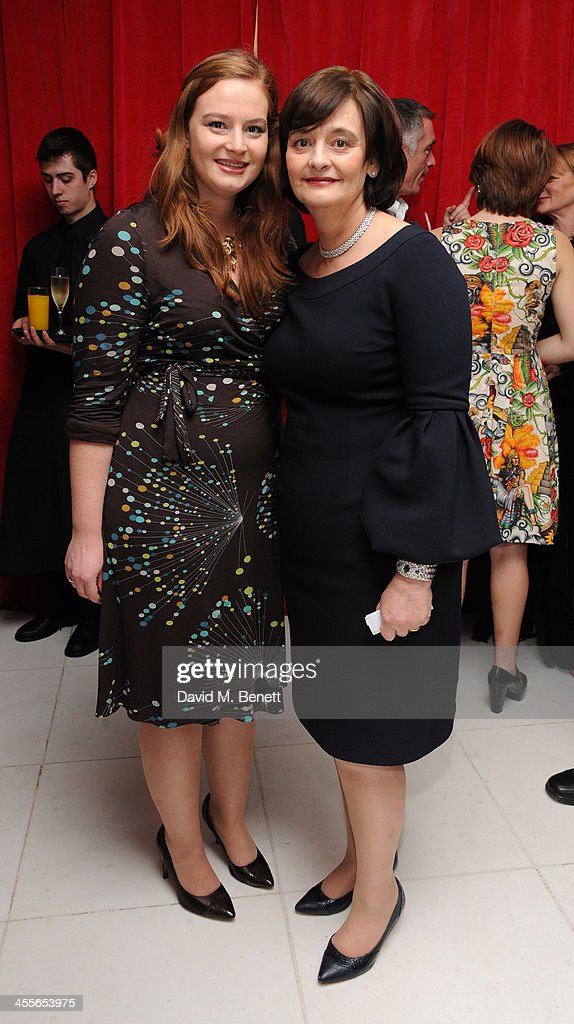 <a gi-track='captionPersonalityLinkClicked' href=/galleries/search?phrase=Cherie+Blair&family=editorial&specificpeople=158226 ng-click='$event.stopPropagation()'>Cherie Blair</a> attends the pre-party for the English National Ballet's The Nutcracker at St Martin's Lane Hotel on December 12, 2013 in London, England.