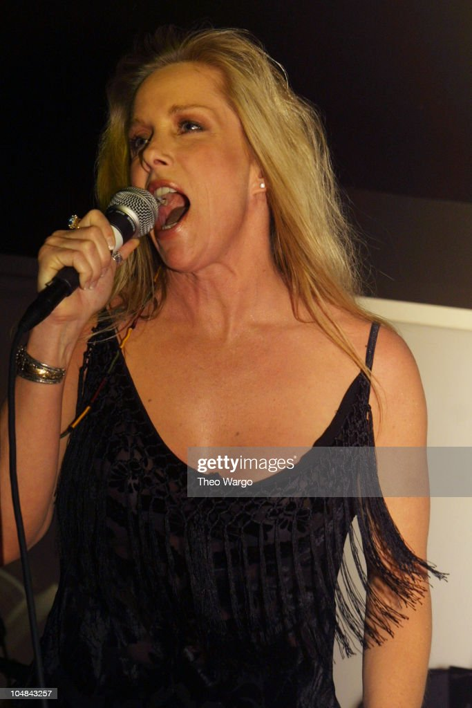 Cherie Currie of The Runaways during The Runaways Reunion Concert at 'Shattered,' 2001 at Spa in New York, New York, United States.