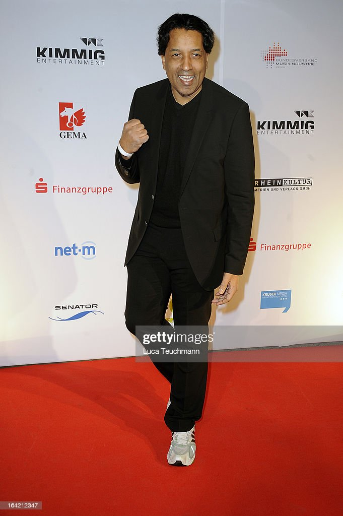 Cherno Jobatey attends the 'Musik Hilft' Charity Dinner at the Grill Royal on March 20, 2013 in Berlin, Germany.