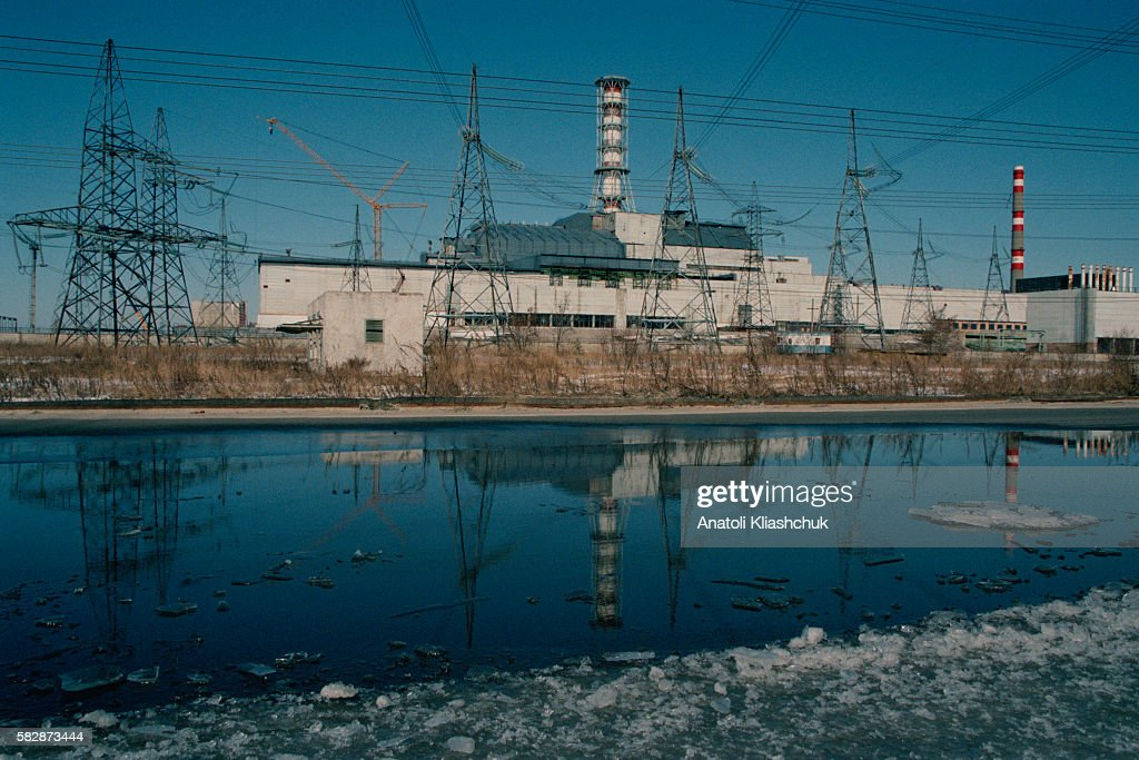 Chernobyl nuclear power plant's reactors n° 3 and 4