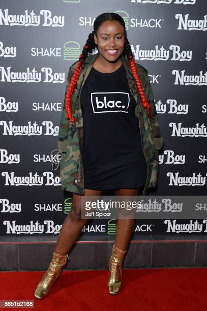 Cherri V during the launch of 'Shack Sounds' at Shake Shack Leicester Square on October 22 2017 in London England