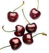 Cherries on light box