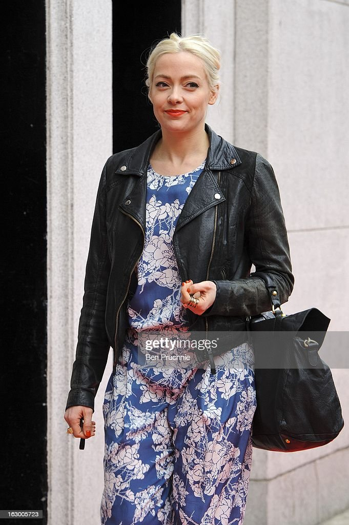 Cherry Healey sighted arriving at The Savoy Hotel on March 3, 2013 in London, England.