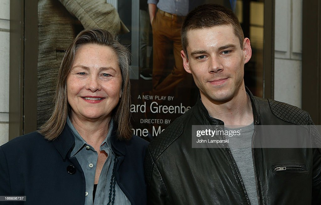 Cherry Jones and Bian J. Smith attend 'The Assembled Parties' Broadway Opening Night at the Samuel J. Friedman Theatre on April 17, 2013 in New York City.