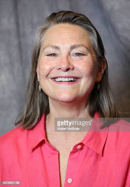 Cherry Jones attends the 2014 Tony Awards Meet the Nominees Press Junket at the Paramount Hotel on April 30 2014 in New York City