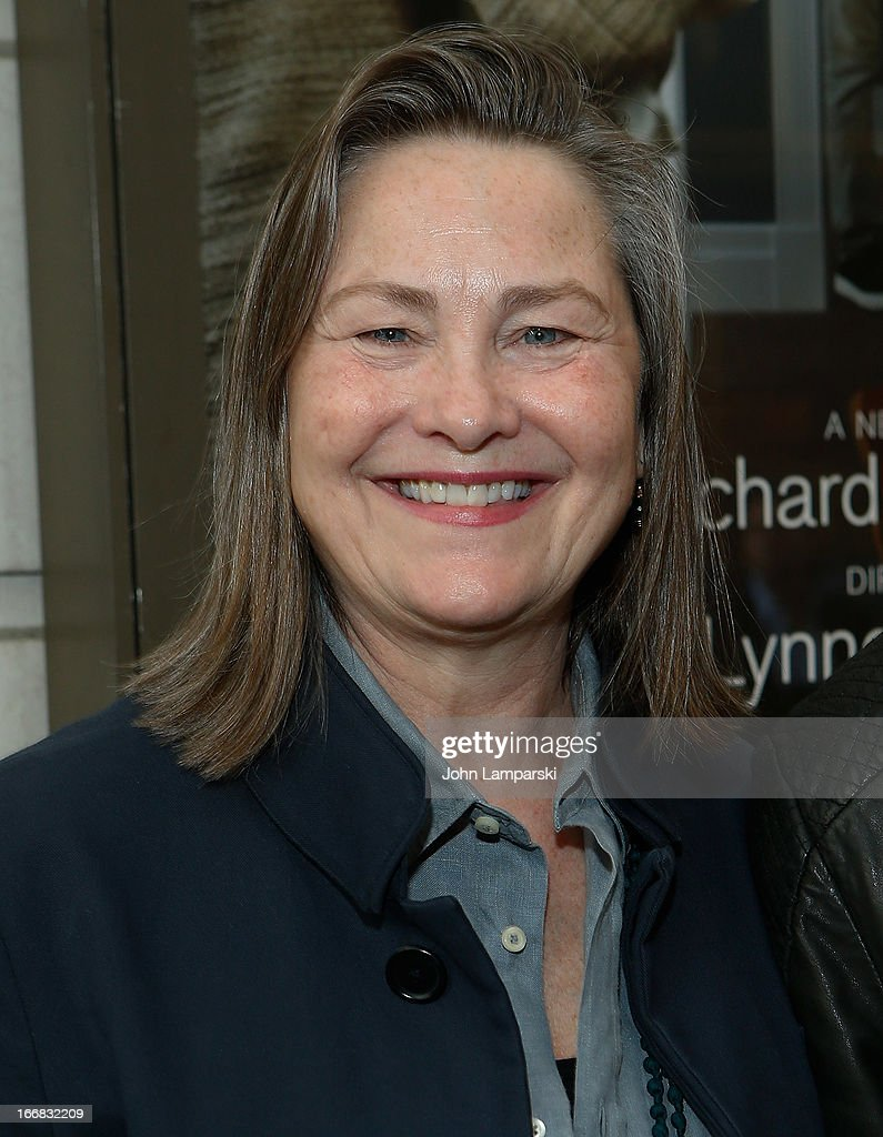 Cherry Jones attends 'The Assembled Parties' Broadway Opening Night at the Samuel J. Friedman Theatre on April 17, 2013 in New York City.