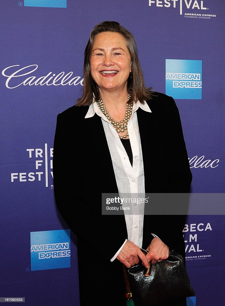 Cherry Jones attends the screening of 'Elaine Stritch: Shoot Me' during the 2013 Tribeca Film Festival at SVA Theater 1 on April 19, 2013 in New York City.