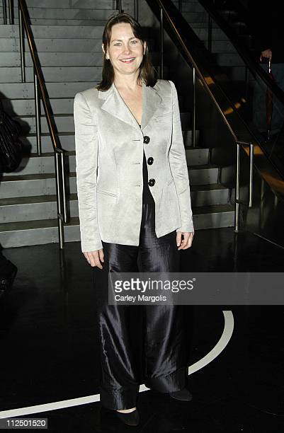Cherry Jones during 20th Annual Lucille Lortel Awards for Outstanding Achievement OffBroadway at Dodger Stages in New York City New York United States