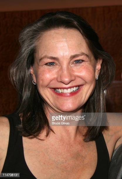 Cherry Jones during Opening Night for Brian Friel's 'Faith Healer' on Broadway May 4 2006 at The Booth Theater in New York City New York United States