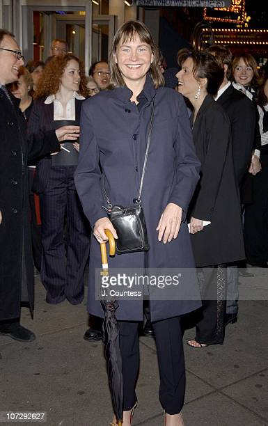Cherry Jones during Opening Night of Roundabout Theatre Company's Broadway Production of Twentieth Century at American Airlines Theatre in New York...