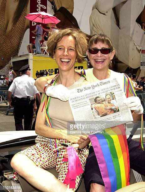 Cherry Jones Grand Marshall of the 2003 Gay Pride March