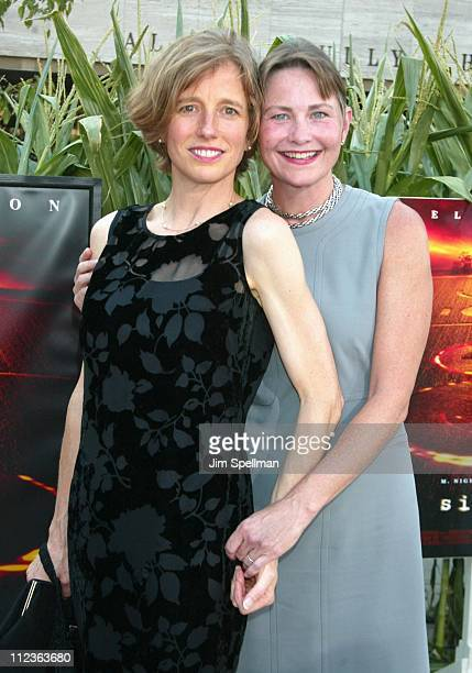 Cherry Jones guest during 'Signs' Premiere New York at Alice Tully Hall in New York City New York United States