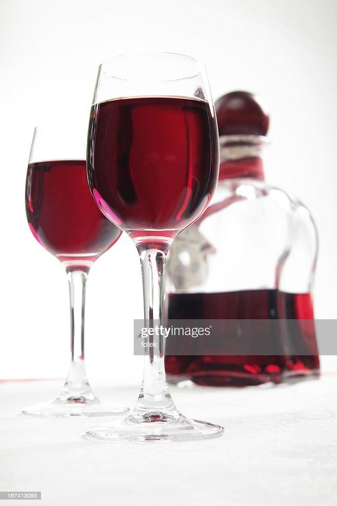 Cherry liqueur : Stock Photo