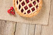 Cherry Pie And Some Fresh Cherries