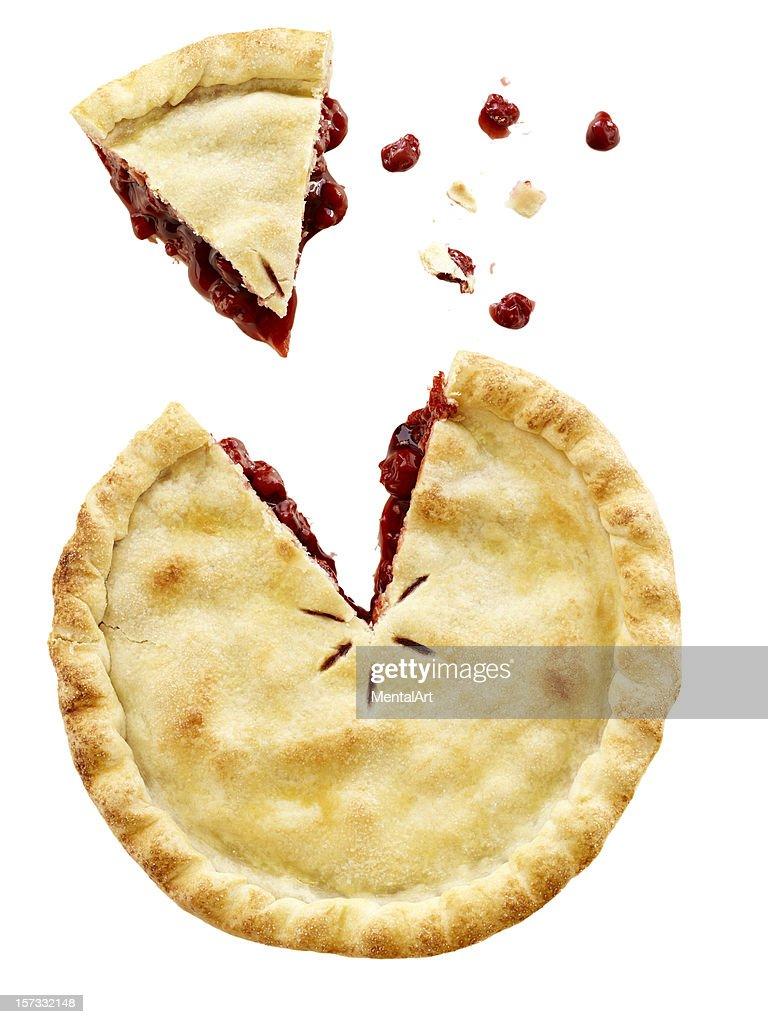 Cherry Pie Sliced