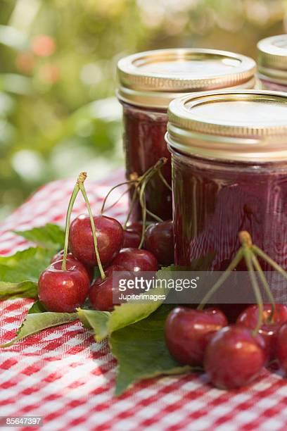 Cherry preserves