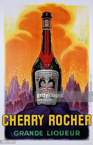 Cherry Rocher Grande Liqueur Poster by Jean D'ylen