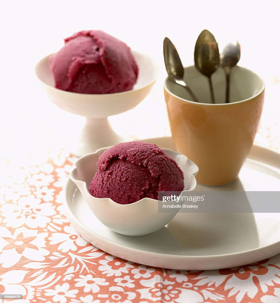 Cherry Sherbet Stock Photo | Getty Images