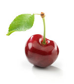 Cherry single with Leaf