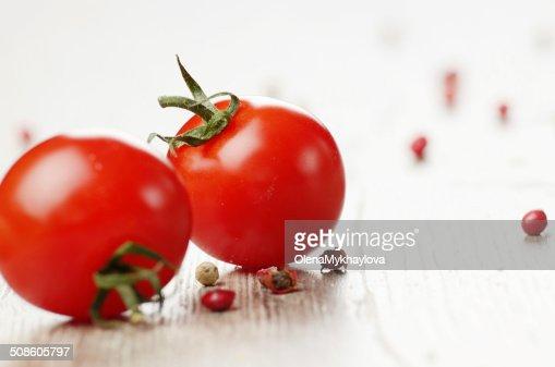 Tomates Cherry : Foto de stock