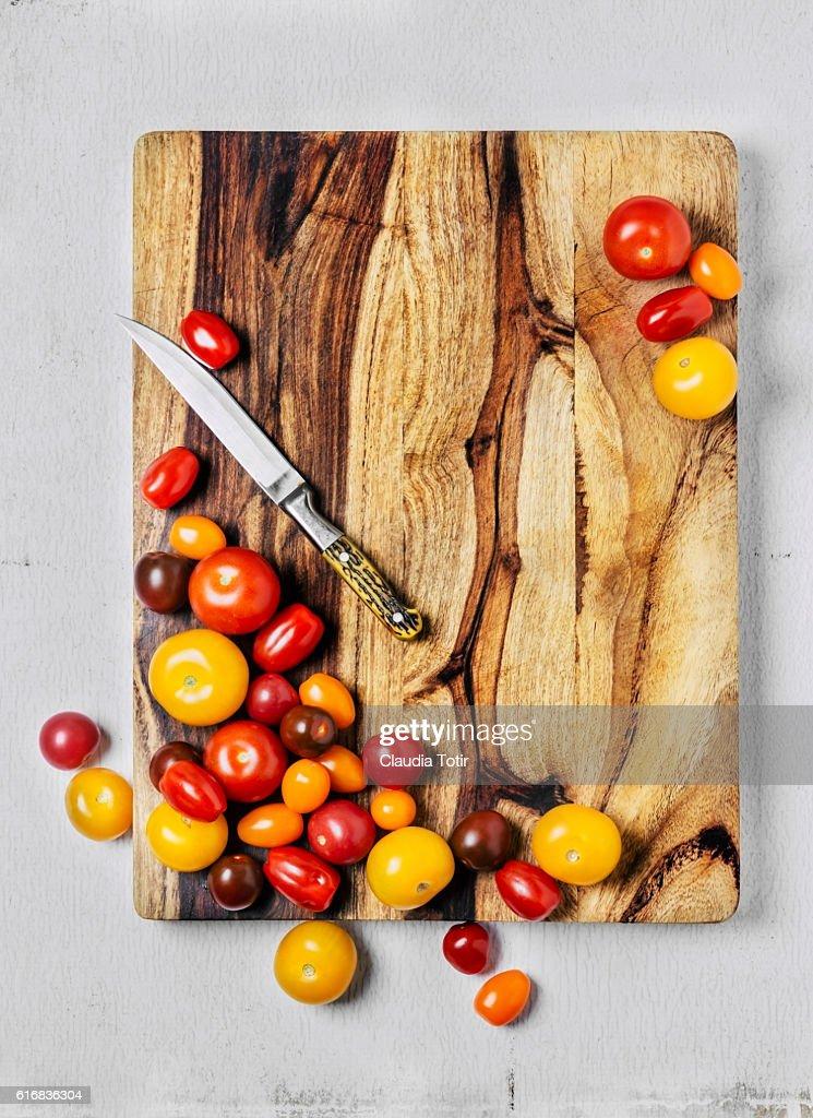 Cherry tomatoes : Stock Photo
