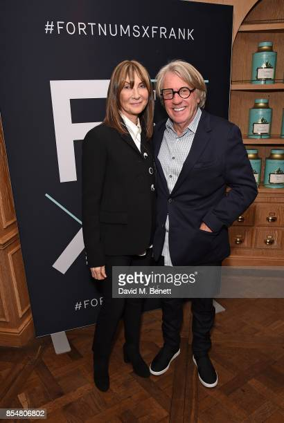 Cherryl Cohen and Frank Cohen attend the Fortnum's x Frank private viewing at Fortnum Mason on September 27 2017 in London England