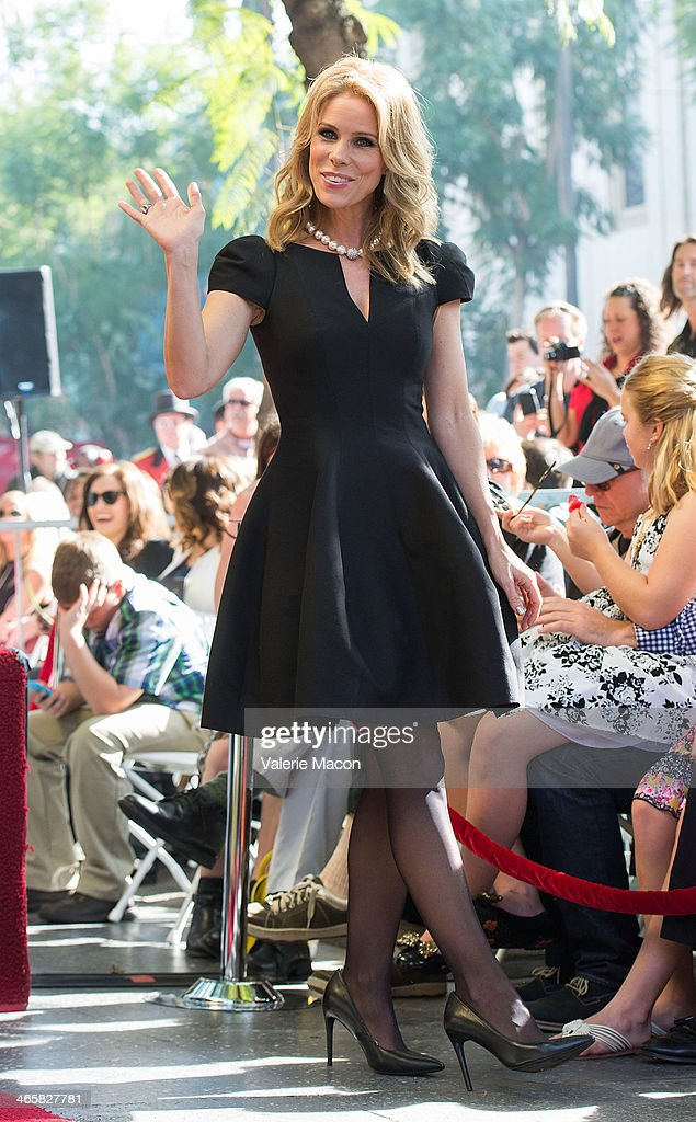 Chery Hines attends the ceremony Honoring her on THe Hollywood Walk of Fame on January 29, 2014 in Hollywood, California.