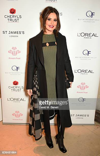 Cheryl attends the Fayre of St James's hosted by Quintessentially Foundation and the Crown Estate in aid of Cheryl's Trust in support of The Prince's...