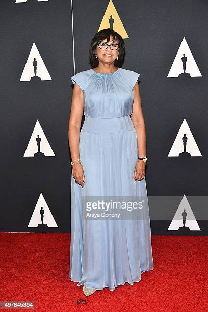 Cheryl Boone Isaacs attends the Academy of Motion Picture Arts and Sciences' 7th Annual Governors Awards at The Ray Dolby Ballroom at Hollywood...