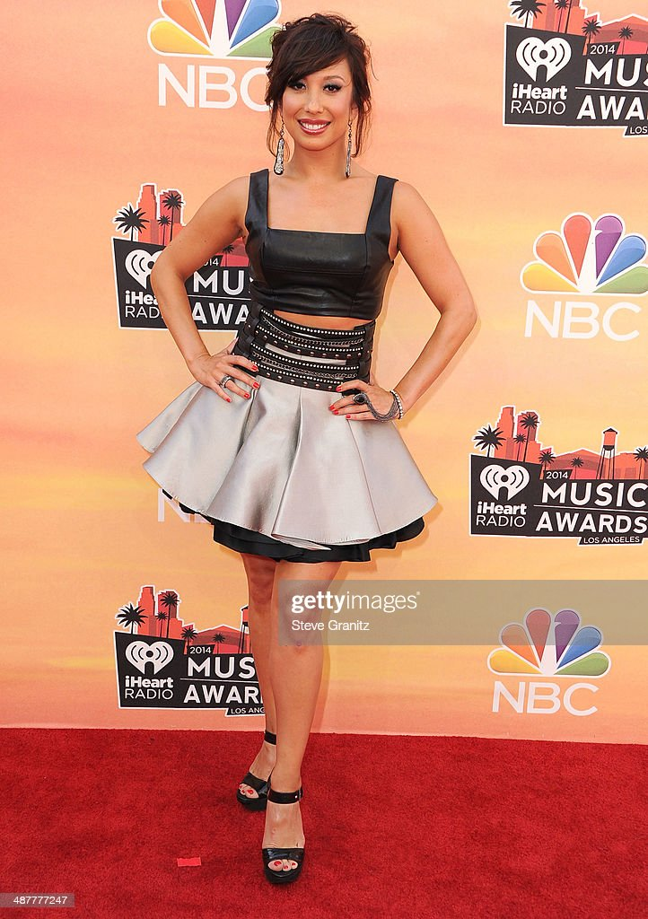 Cheryl Burke arrivals at the 2014 iHeartRadio Music Awards at The Shrine Auditorium on May 1, 2014 in Los Angeles, California.