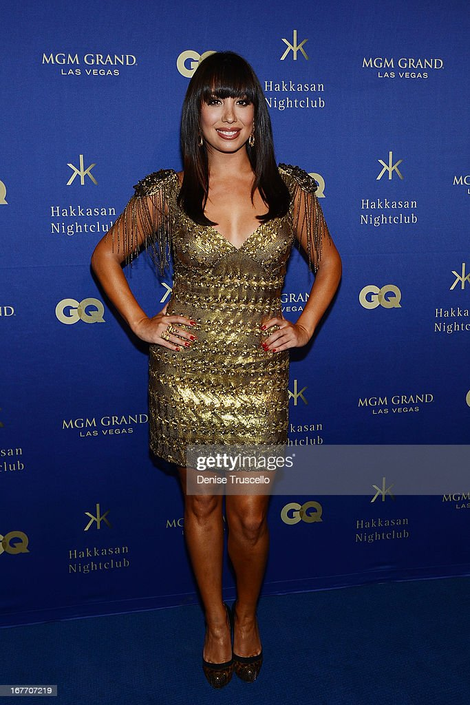 Cheryl Burke arrive at the grand opening of Hakkasan Nightclub at the MGM Grand on April 27, 2013 in Las Vegas, Nevada.