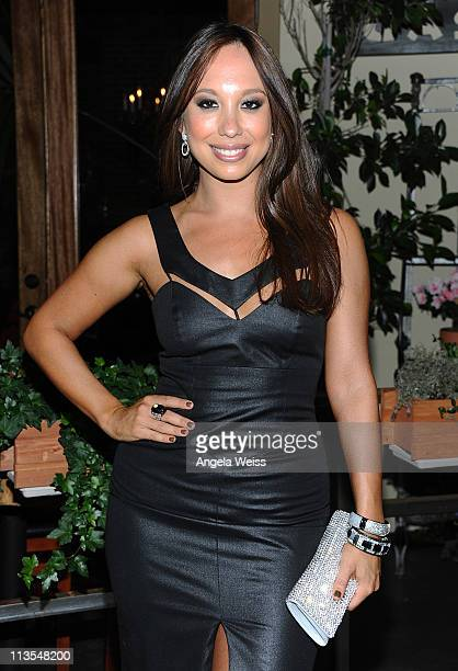 Cheryl Burke arrives at her 27th birthday celebration at BoHo Restaurant on May 2 2011 in Hollywood California
