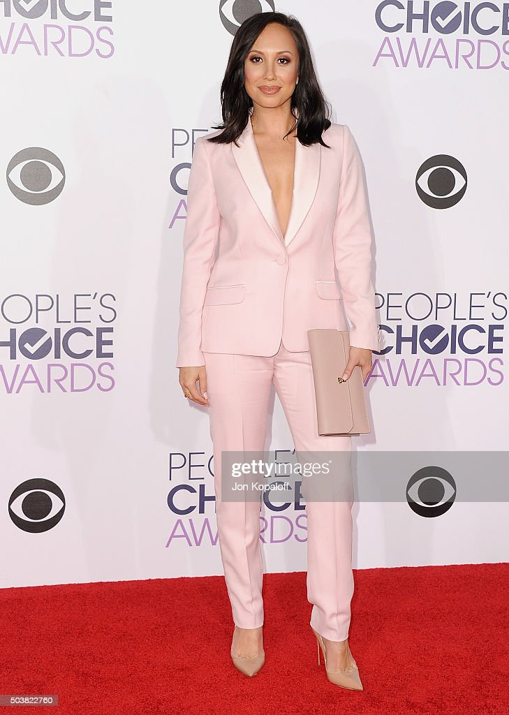 Cheryl Burke arrives at People's Choice Awards 2016 at Microsoft Theater on January 6, 2016 in Los Angeles, California.
