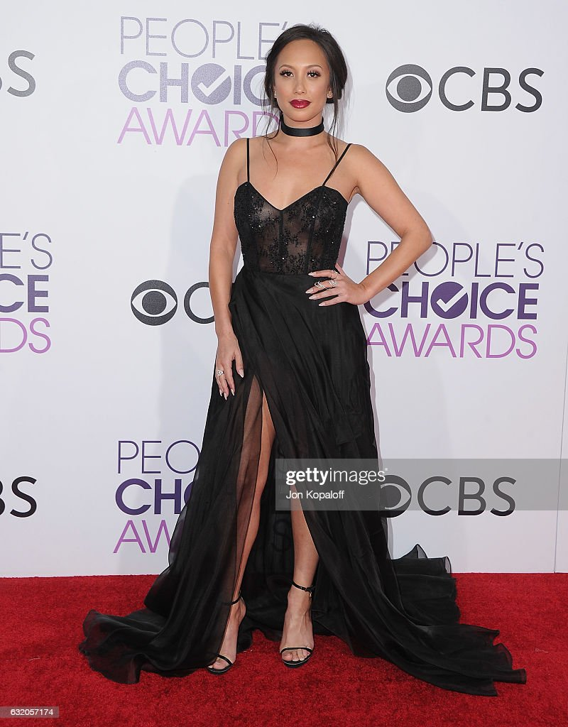 Cheryl Burke arrives at the People's Choice Awards 2017 at Microsoft Theater on January 18, 2017 in Los Angeles, California.