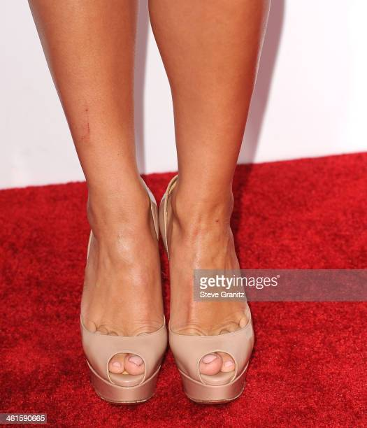 Cheryl Burke arrives at the The 40th Annual People's Choice Awards at Nokia Theatre LA Live on January 8 2014 in Los Angeles California