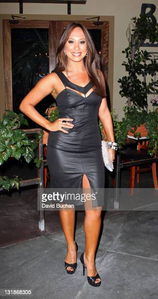 Cheryl Burke attends Cheryl Burke's 27th birthday celebration at BoHo Restaurant on May 2 2011 in Hollywood California