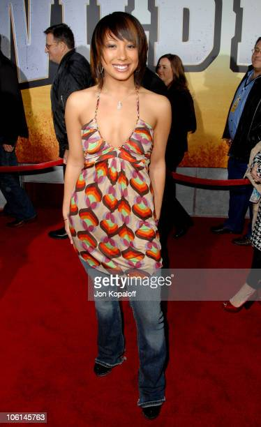 Cheryl Burke during 'Wild Hogs' Los Angeles Premiere Arrivals at El Capitan Theater in Hollywood California United States