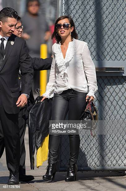 Cheryl Burke is seen in Hollywood on June 23 2014 in Los Angeles California