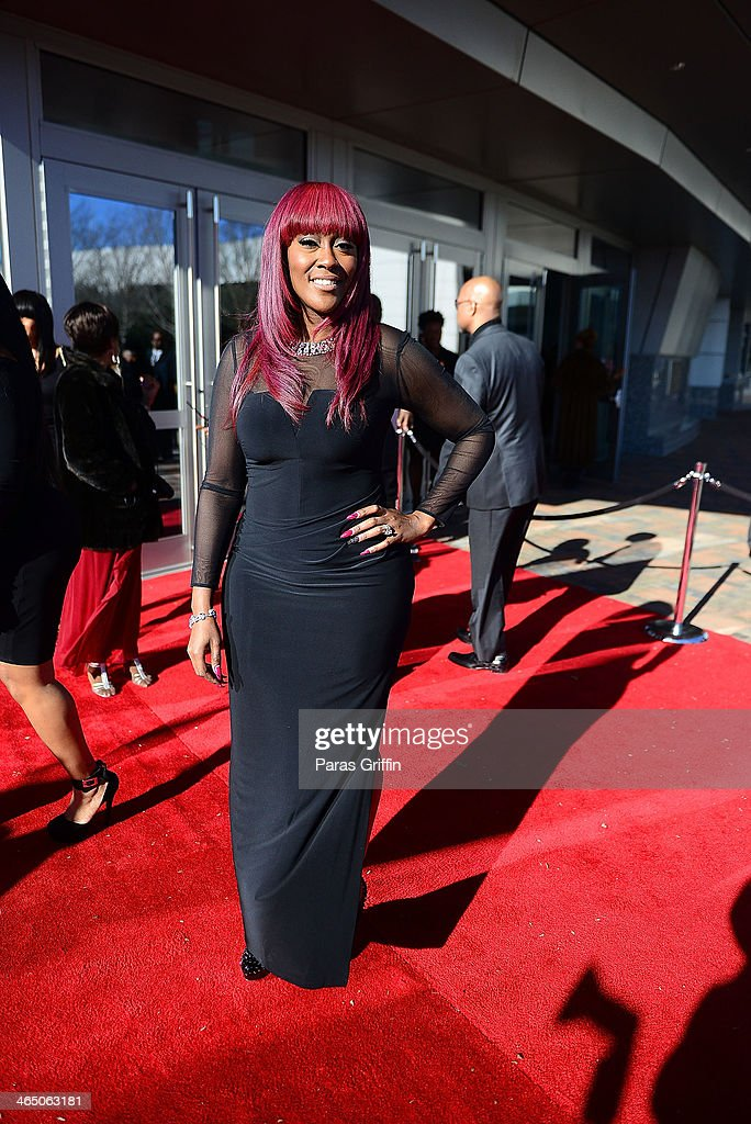Cheryl 'Coko' Clemons of SWV arrives at the 2014 Trumpet Awards at Cobb Energy Performing Arts Center on January 25, 2014 in Atlanta, Georgia.