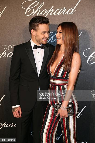 Cheryl Cole and her boyfriend Liam Payne member of 'one direction' arrive at the Chopard Trophy Ceremony at the annual 69th Cannes Film Festival at...