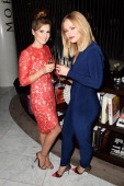 Cheryl Cole and Kimberley Walsh attend the launch party for Kimerley Walsh 'A Whole Lot Of History' at Hotel ME on September 23 2013 in London England