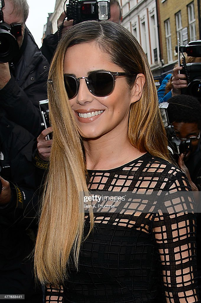 Cheryl Cole announces her return to the X Factor judging panel on March 11, 2014 in London, England.